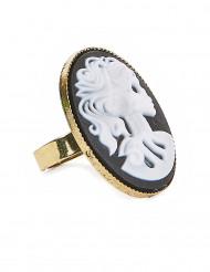 Skelett-Ring für Damen Halloween-Accessoire