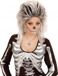 Kette mit Schädel für Damen Halloween