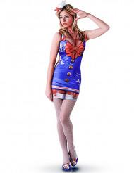 Kostüm Sexy Matrose für Damen