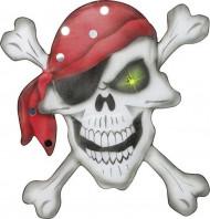 Piraten Dekoration 49 x 49 cm