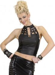 Totenkopf Armband Punk für Erwachsene
