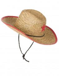 Cowboy Hut aus Stroh für Kinder