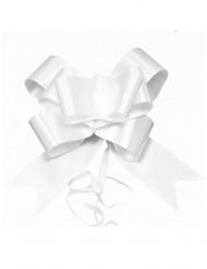 Geschenke-Schleifen für Weihnachten 4 Stück weiss