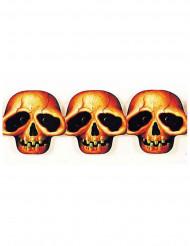 Totenkopf Girlande - Halloween