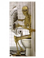 Halloween-Poster Skelett