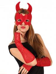 Rotes Teufel-Set
