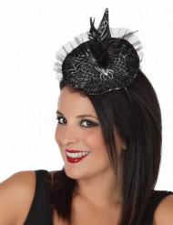 Mini-Hut im Hexendesign für Halloween