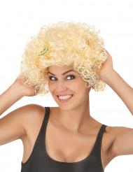 Kurze Frauen Perücke blond gelockt