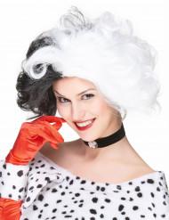 Dalmatiner-Lady Perücke für Erwachsene