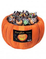 Box mit Bonbons in Kürbisform für Halloween 700 g