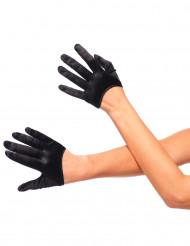 Schwarze Mini-Handschuhe