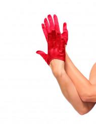 Mini rote Handschuhe