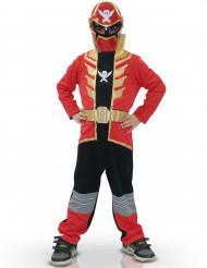 Rotes Power Rangers™ Super Mega Force Kostüm für Kinder