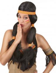 Indianerperücke für Frauen