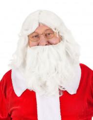 Perücke mit Bart für Weihnachtsmann