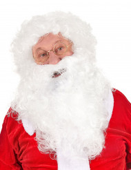 Weihnachtsmann Perücke mit Bart