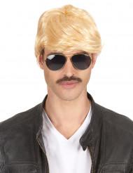 Blonde Kurzhaar-Perücke für Männer