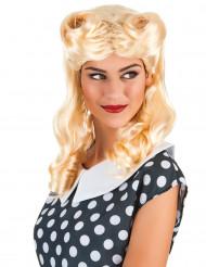 Blonde Locken Perücke für Damen