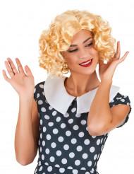 Blonde Starlet-Perücke für Damen