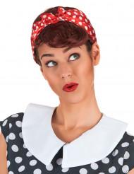 Brünette Damen-Perücke für Pin-ups