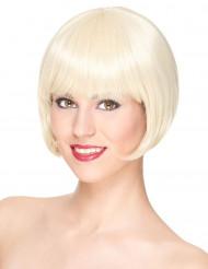 Kurze blonde Perücke Damen