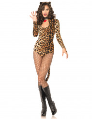 Sexy Leoparden-Kostüm für Frauen