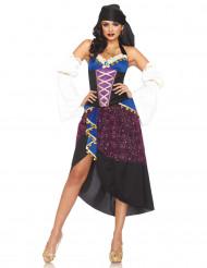 Zigeunerin-Kostüm für Damen