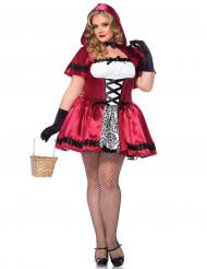 Rotkäppchen-Kostüm (Plus Size) für Damen