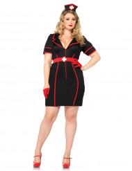 Sexy Kostüm Krankenschwester (Plus Size) für Damen