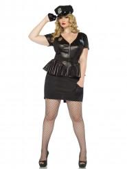 Polizistin-Kostüm für Frauen in großer Größe
