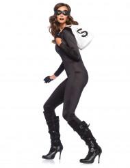 Catsuit in Schwarz für Damen