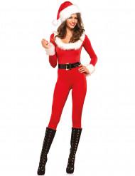 Hochwertiges Weihnachtsfrau Kostüm