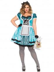 Alice im Wunderland Kostüm für Damen