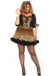 Sexy Plus Size Katzenkostüm für Damen
