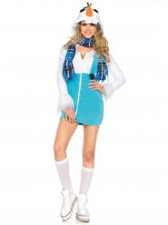 Schneemann-Kostüm für Frauen