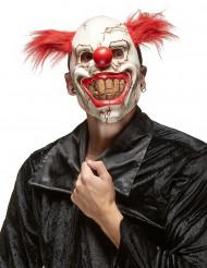 Clownsmaske für Erwachsene zu Halloween