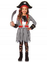 Freibeuterin-Mädchen-Kostüm bunt