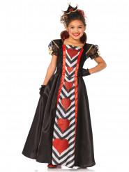 Kostüm Herzkönigin für Mädchen