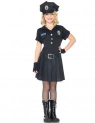 Polizei-Kostüm für Mädchen
