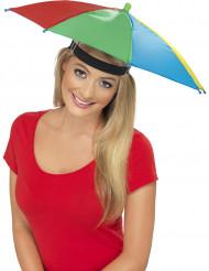 Bunte Regenschirm-Mütze für Erwachsene