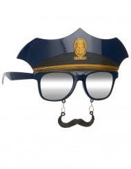 Polizei Brille
