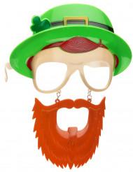 Brille mit Bart St. Patrick's Day