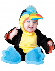 Wunderschönes buntes Papageien-Kostüm für Babys in Premium-Qualität