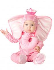 Rosa Elefanten-Kostüm für Babys