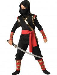 Ninja-Kostüm für Kinder - Deluxe