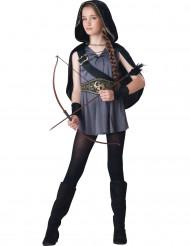 Bogenschütze-Kostüm für Mädchen - Deluxe