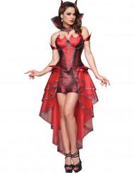 Premium Teufelin-Kostüm für Damen