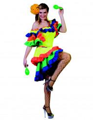 Kostüm einer Rumba-Tänzerin, für die Dame