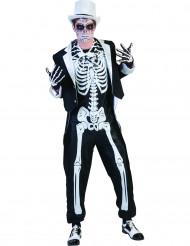 Chices Halloween Kostüm Menschliches Skelett