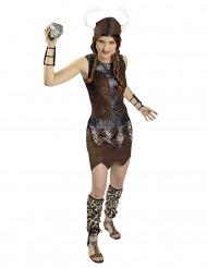 Kostüm Wikinger-Krieger für Frauen